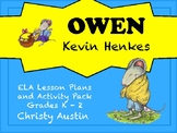Owen by Kevin Henkes ELA Activity Pack
