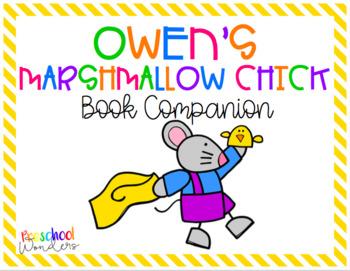 Owen's Marshmallow Chick Retelling Pack