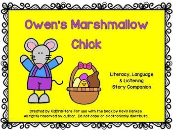 Owen's Marshmallow Chick Book Companion