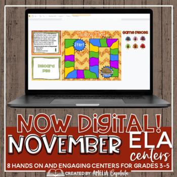 """""""Owfully"""" Thankful ELA Centers Megapack"""
