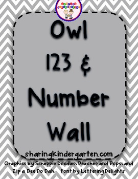 Owl 123s and Number Wall