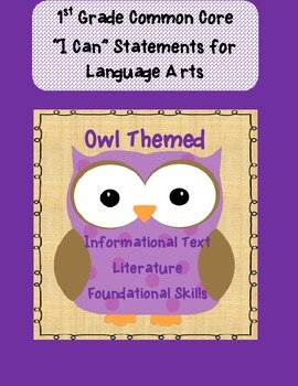 Owl 1st CCSS Foundational Skills-Literature-Informational