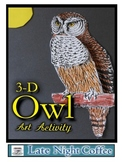 Owl - 3-D Art Activity