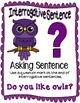 Owl 4 sentence types posters