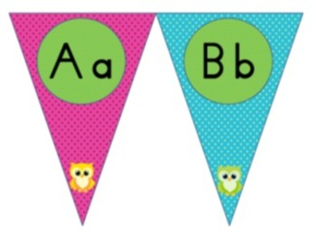 Owl ABC Flags
