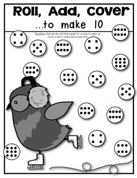 Owl About 10 {Decomposing and Composing} Supports Math Common Core Kindergarten