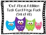 'Owl' About Addition Task Card Set (60 Task Cards)