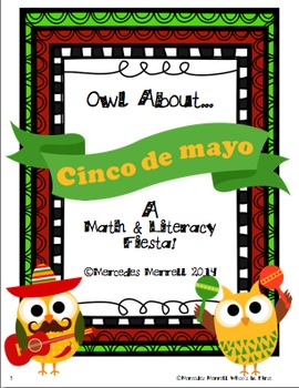 Owl About Cinco de mayo A Math & Literacy Fiesta!