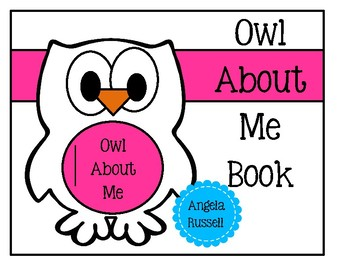 Owl About Me Book