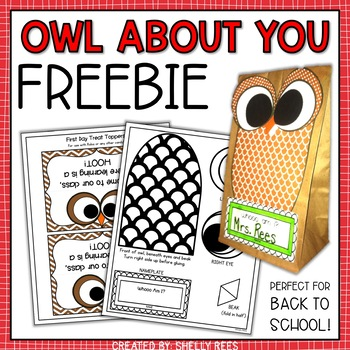 All About Me Craftivity - FREE Back to School Craftivity!