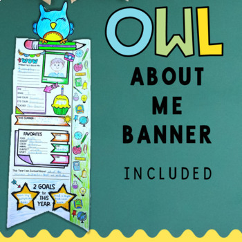 Back to School Activities: All About Me Posters