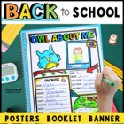 All About Me: Owl Theme