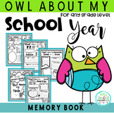 Owl About My School Year Posters and Memory Book: End of t