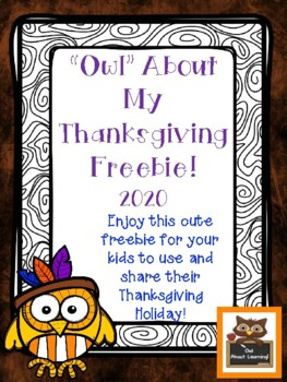 *Owl* About My Thanksgiving FREEBIE!