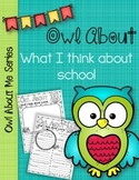 Owl About Me: for Student Reflection Throughout the School Year