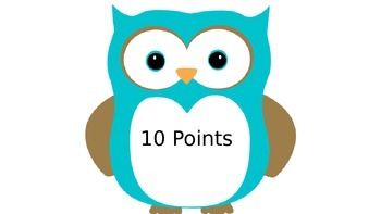 Owl Accelerated Reader points
