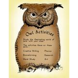 OWL ACTIVITIES Gr. 2-4