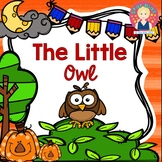 Owl Activities for Kindergarten and First Grade in English and Spanish