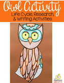 Owl Activity, Editable Writing Prompts