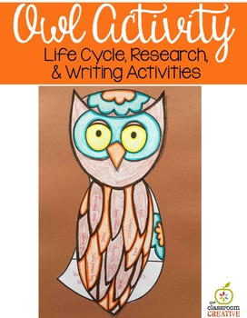 Owl Activity (Editable Writing Prompts)