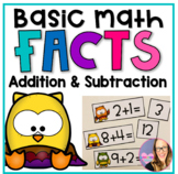 Basic Math Facts ( Addition and Subtraction) for First Grade