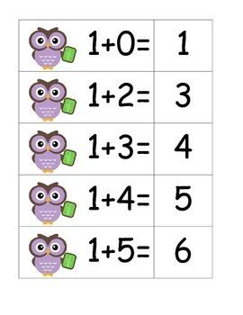 Owl Addition - Pocket Chart