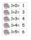 Owl Addition - Pocket Chart