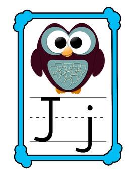 Owl Alphabet