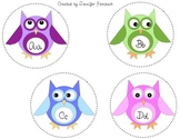 Owl Alphabet & Labels