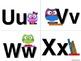 Owl Alphabet (Word Wall Tags)