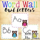 Owl Word Wall