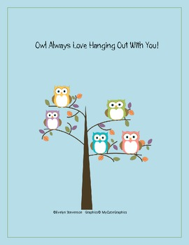 Owl Always Love Hanging Out With You!