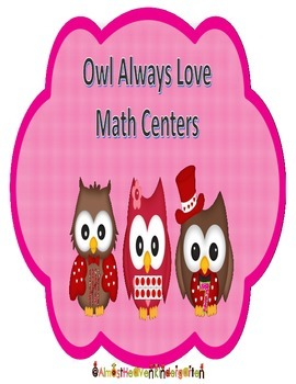 Owl Always Love Math Centers