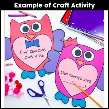 Owl Always Love You Craftivity