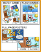 Antonyms Game Tiles, Posters and Flash Cards - Owl Theme