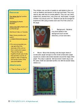 Owl Art - Whoo, Whoo's Looking at Me!