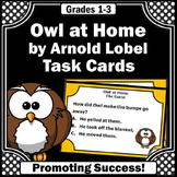 Owl at Home Lobel Comprehension Questions Book Companion 1st or 2nd Grade