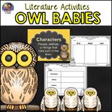 Owl Babies Literature Activities