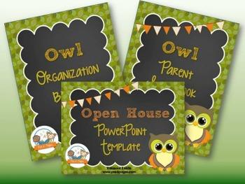 Owl Back-to-School Timesaver Bundle