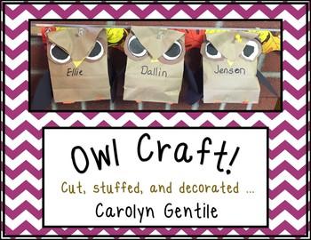 Owl Bag Craft