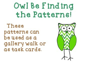 Owl Be Finding Patterns