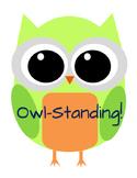 Owl Behavior Chart 3 Color Alternate