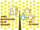 Owl Behavior Clip Chart