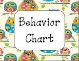 Owl Behavior Clip Chart