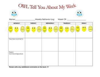 Owl Behavior Log