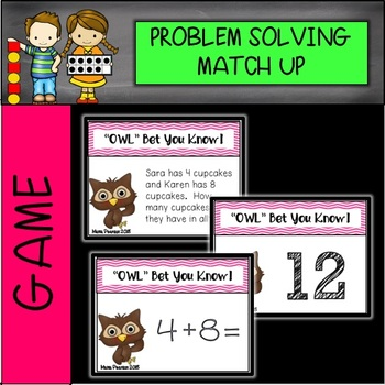 EQUATIONS, WORD PROBLEMS, NUMBERS Game