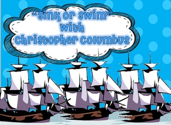 Christopher Columbus Sink or Swim GAME
