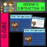 DIGITAL and PRINTABLE Addition and Subtraction Word Problems Game