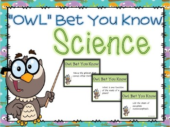 1st Grade Science Game