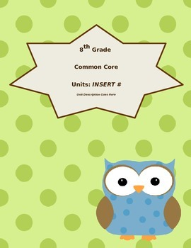 Owl Binder Cover and Divider Pages